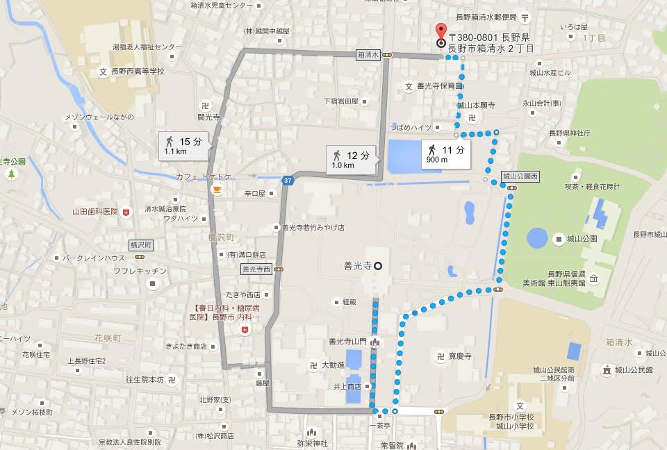 善光寺第1駐車場01