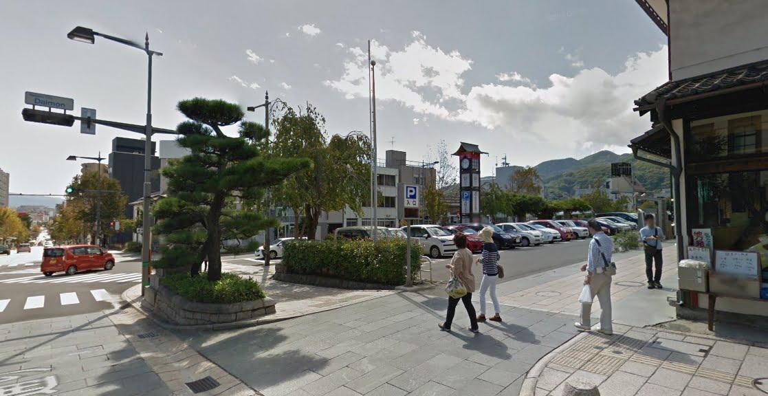 善光寺表参道大門町駐車場