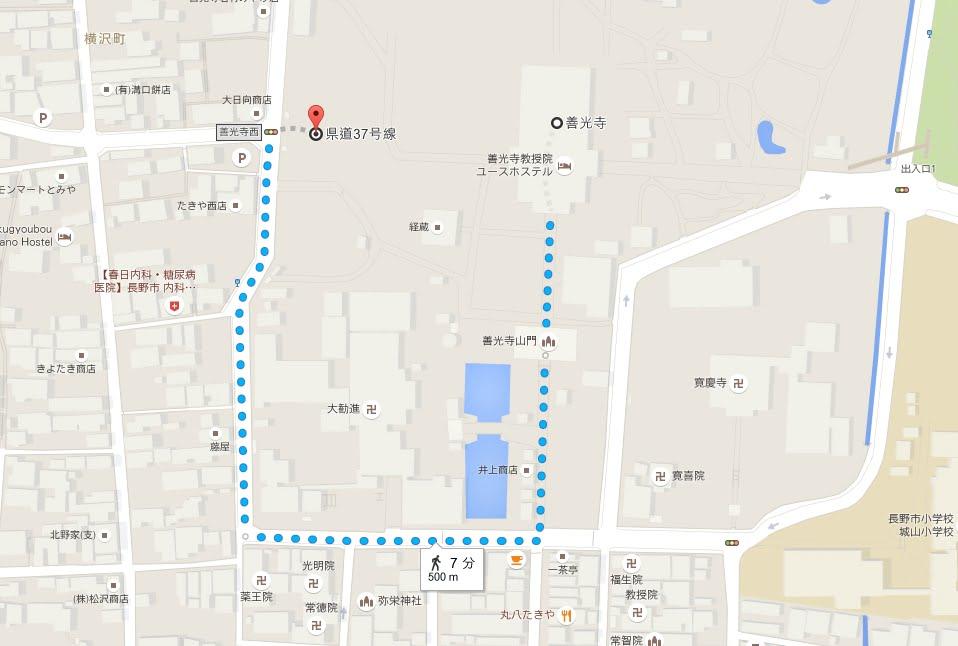 長野県善光寺第2駐車場01